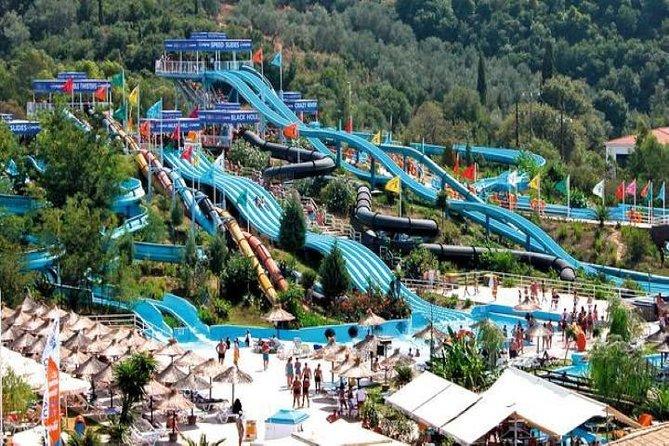 water park Corfu Aqualand