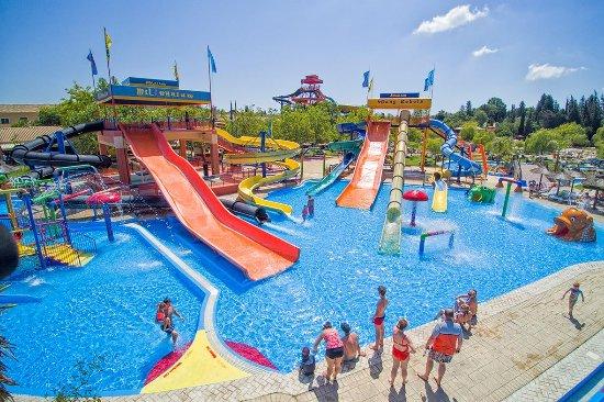 kids area water park Corfu Aqualand