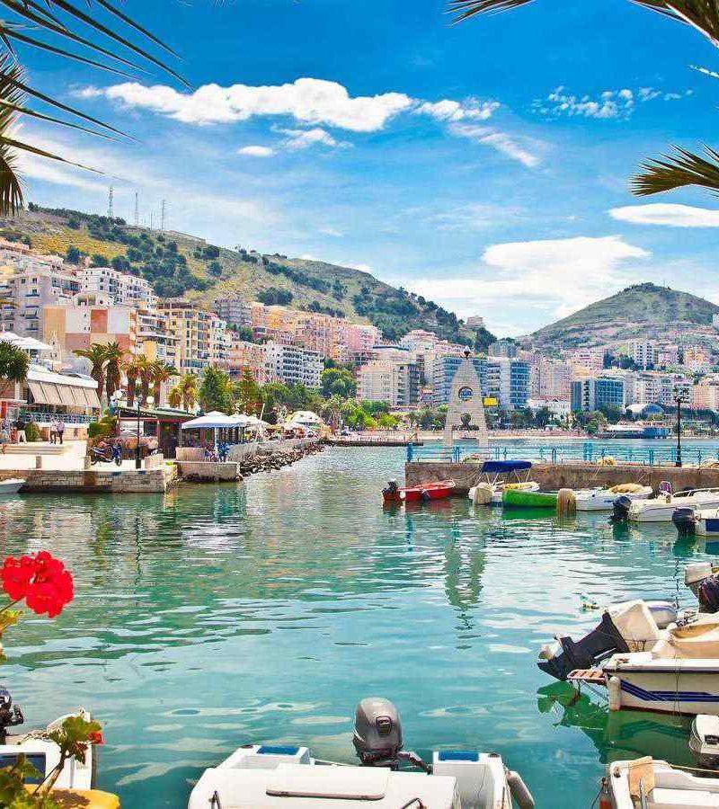 Ksamil day tour from Corfu